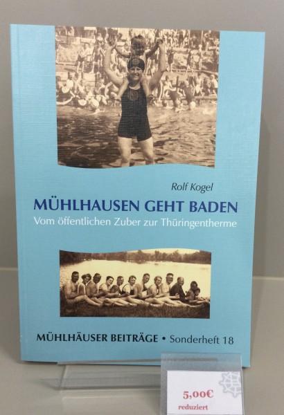 """Buch """" Mühlhausen geht Baden"""""""