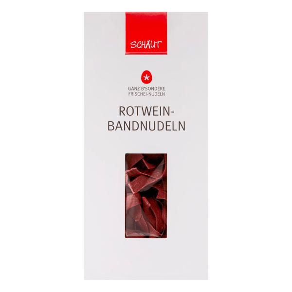 GANZ B'SONDERE ROTWEIN-BANDNUDELN