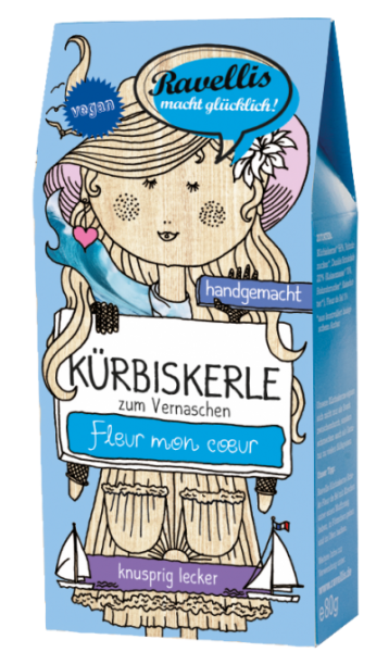 KÜRBISKERLE -DUNKLE SCHOKO FLEUR DE SEL-