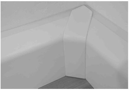 HZ SLF 2000 Sockelleisten u. Formteile - Farbe: nussbaum