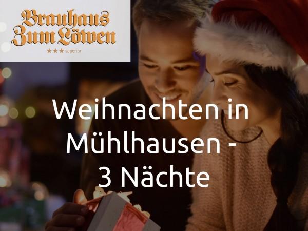 Weihnachten in Mühlhausen - 3 Nächte
