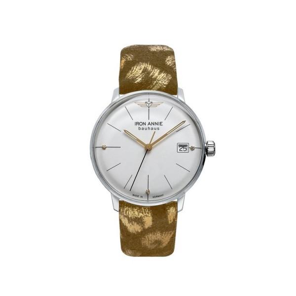 Iron Annie Uhr - Iron Annie - Bauhaus - sand/goldfarben / 5071-1