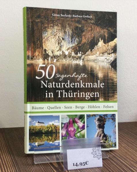 """Buch """"50 Sagenhafte Naturdenkmale in Thüringen"""""""
